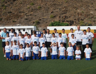 campus CD Tenerife Playa santiago