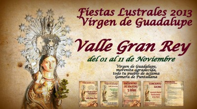cartel VGR  virgen
