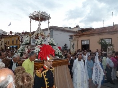virgen guadalupe procesion