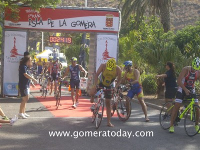 triatlon la gomera